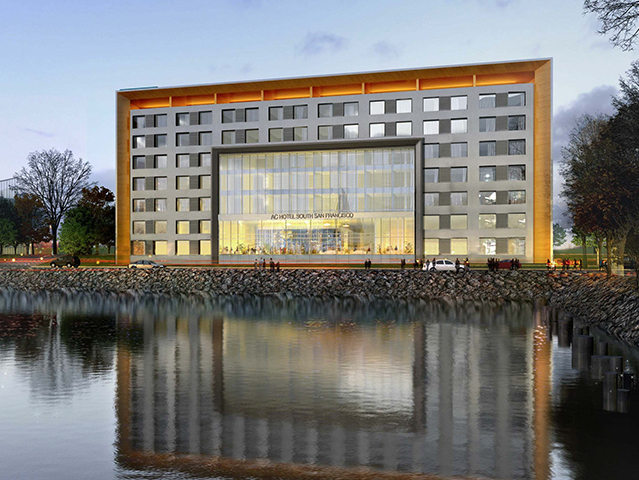 Marriott Hotels First Ac Hotel On The West Coast Located At Oyster Point In South San Francisco