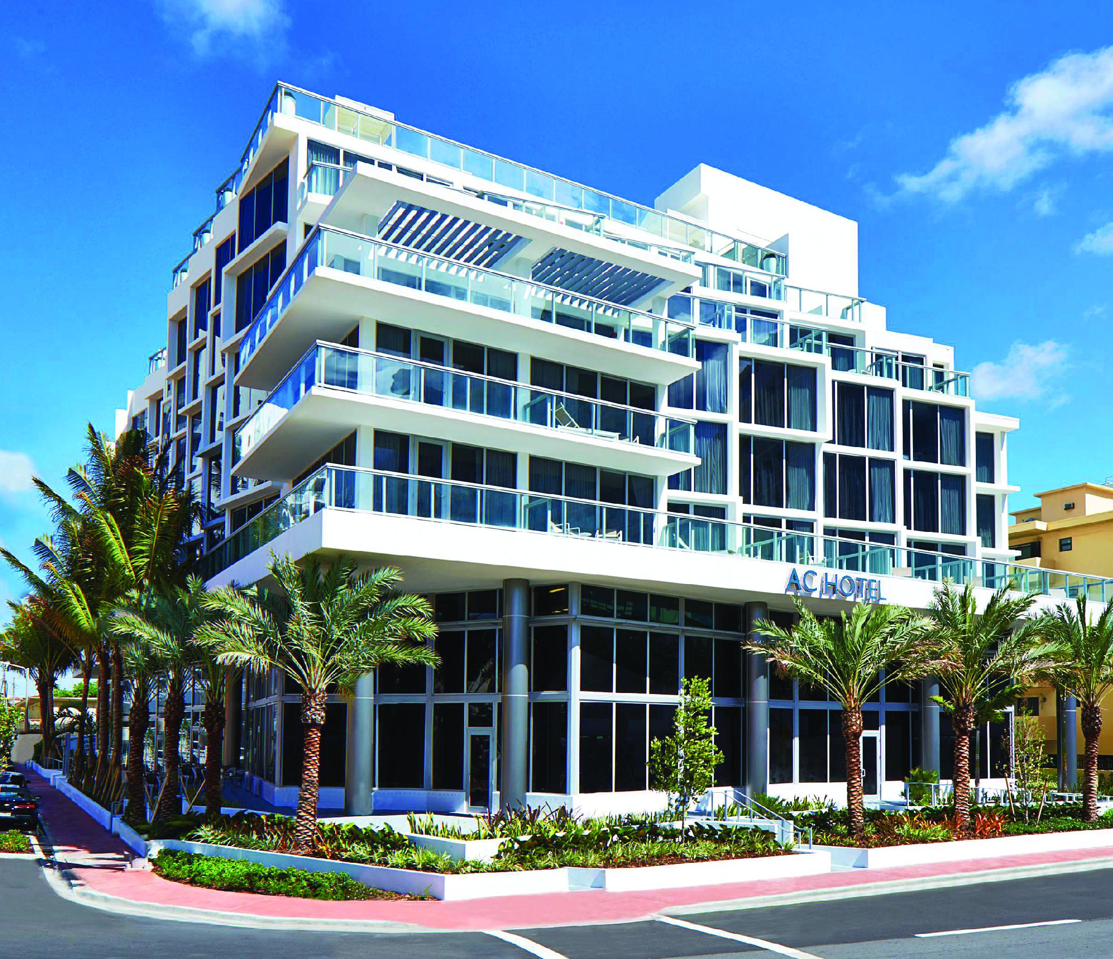 Ac Hotel By Marriott Miami Beach Desimone Consulting