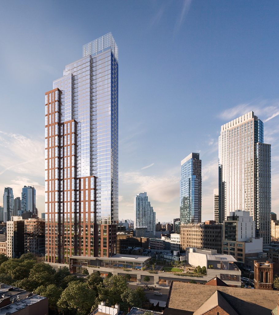 The Hub Brooklyn S Tallest Building Is Profiled By The New York Times Desimone Consulting