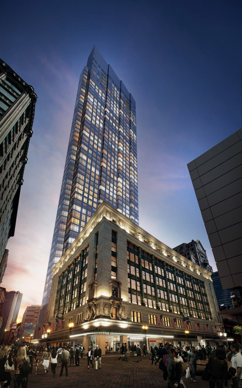 Millennium Tower Boston - DeSimone Consulting Engineers