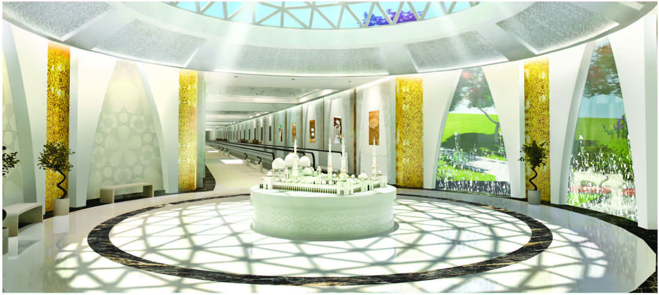 Sheikh Zayed Grand Mosque New Visitor S Center And Plaza Desimone Consulting Engineers