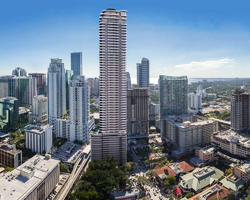 Brickell Flatiron - Miami - DeSimone Consulting Engineers