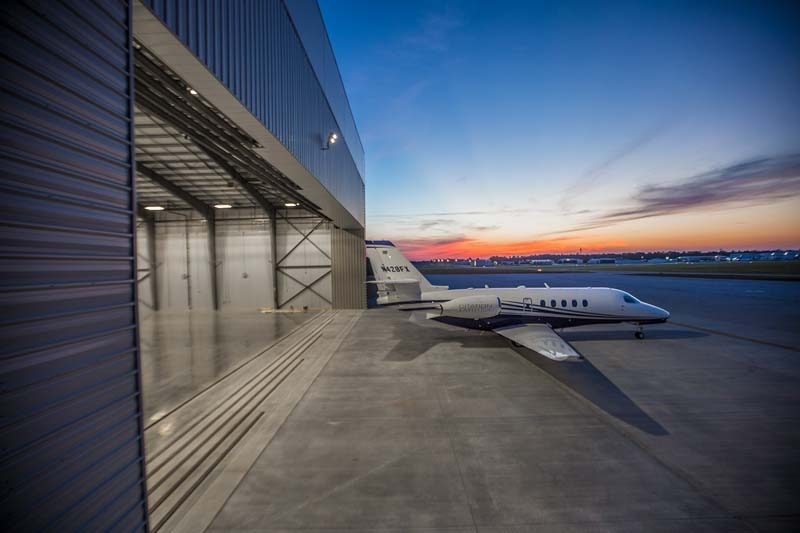 Galaxy Fixed Base Operator (FBO) Hangars